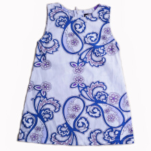 MEATBALL Batik Dress Blue