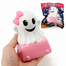 Connie Squishy Ghost Cake Humbo 12cm Slow Rising With Packaging Halloween Decor Collection Gift Toy