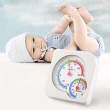 Nursery Baby House Room Mini Thermometer Wet Hygrometer Temperature Meter