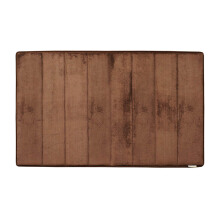Microdry Memory Foam Bath Mat 53 X 86 cm - D.Choco (Large) By Terry Palmer