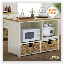 Meja Makan Keranjang Island Maple Story - LIVIEN FURNITURE