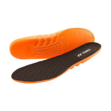YONEX Socks Liner - Bright Orange/Coffee