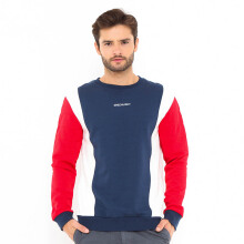 GREENLIGHT Tricoloured Sweater - Red