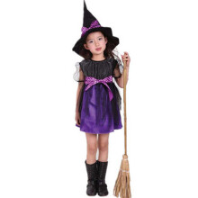 BESSKY Toddler Kids Baby Girls Halloween Clothes Costume Dress Party Dresses+Hat Outfit_