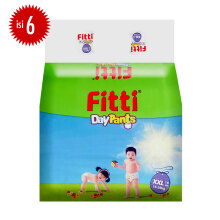 FITTI Popok Day Pants Value Pack XXL - 16 pcs [1 Carton isi 6 Bag]