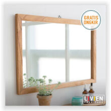 Cermin - Mirror Kotak Maple Story - LIVIEN FURNITURE
