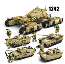 ENLIGHTEN D1305 Toy  Compatible with LEGO blocks for 6 years old kid 1242pcs blocks