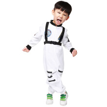 Children's space astronauts costumes pilot jumpsuits dichromatic baseball uniform