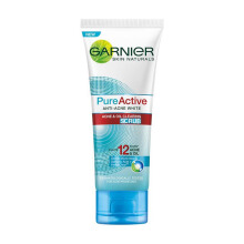 GARNIER Pure Active Acne & Oil Clearing Scrub 100ml