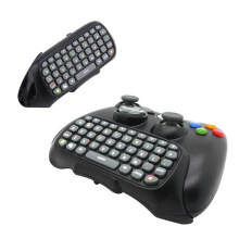 [Kingstore]Wireless Controller Messenger Game Keyboard Keypad ChatPad For XBOX 360 Black