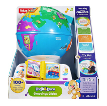 FISHER PRICE Laugh & Learn Greetings Globe 6DMC81
