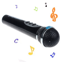 BESSKY Microphone Mic Karaoke Singing Kid Funny Gift Music Toy - Black