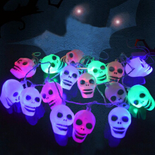 Skull Shape Halloween Party LED String Lights