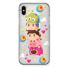 CASETOMIZE Classic Hard Case for Apple iPhone X - Chubby Toy Story Tsum Mountain