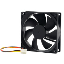 12V 3-Pin 9cm 90 x 25mm 90mm CPU Heat Sinks Cooler Fan DC Cooling Fan 65 CFM