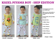 KAZEL Piyama Boy - Ship Edition