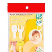 PIGEON Self Weaning Spoon & Fork