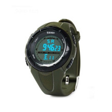SKMEI Jam Tangan Pria Digital Analog Waterproof LED Watch 1025 - Hijau
