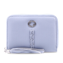 HUER Carima Small Zipper Wallet - Blue [One Size]