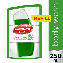 LIFEBUOY Body Wash Clini-shield10 Fresh Refill 250ml