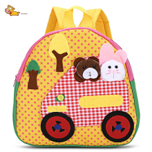 TongChang Bear Rabbit Car Kindergarten Child School Bag