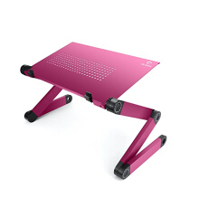 Life Basis Adjustable Laptop Table Portable Standing Bed Desk Breakfast Tray Notebook Stand Reading Holder