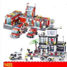 ENLIGHTEN D219 Toy  Compatible with LEGO blocks for 6 years old kid 1405pcs blocks