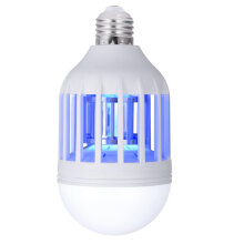 Vinmori Electronic Insect Killer, Bug Zapper Light Bulb, Mosquito Killer Lamp, Mosquito Zapper, Fly Killer, Mosquito Trap, Fits White
