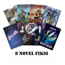 MIZAN Fiction Novel Bundle 8pcs