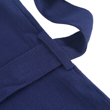 Kangol-In spring and summer, the v-neck sleeveless dress is a simple dress with a belt OL-Dark Blue