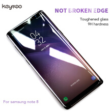 Keymao Galaxy Note 8 Pelindung Layar Full Cover Tempered Glass Screen Protector