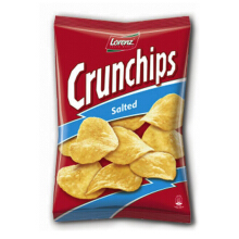 LORENZ Crunchips Salted 100gr