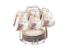 VICENZA Cup and Saucer Magnolia 13Pcs C78-1