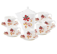 NAKAMI Tea Set Orange Lily NAR01 - 14 PCS