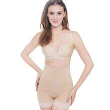 MOOIMOM Seamless High Waist Slimming Boyshort S7003 - Nude