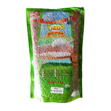 MD ORGANIC RICE  Red Rice Pecah Kulit 1 kg