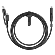 Nomad Universal Cable 4 In 1 USB Type-C 1.5M - Black