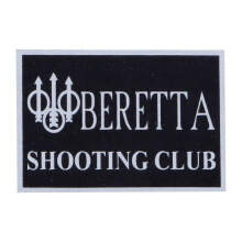 Tactical Series Velcro Patch 5 x 7.25 cm - Beretta Shooting Club - Black Silver
