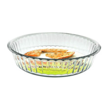 SIMAX Cookware Glass Fluted Baking Dish / Mangkuk Oven 2.1L - 6566