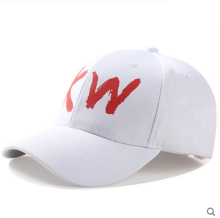 BAI B-242 Adjustable Baseball Cap MBL Hiphop cap with Kris Wu design White color