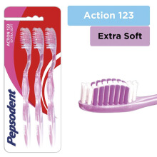 PEPSODENT Action 123 Extrasoft 3pcs