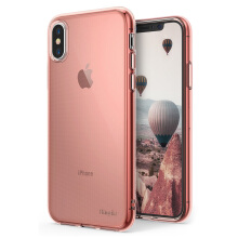 RINGKE AIR Case for iPhone X - Rose Gold