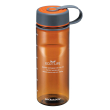 LOCK & LOCK Two Tone Water Bottle Tritan ABF603BR 650ML - Brown
