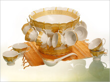 VICENZA Bowl Set Lily 27Pcs B410