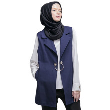 HATTACO  BY RANI HATTA O-Ring Vest - Navy