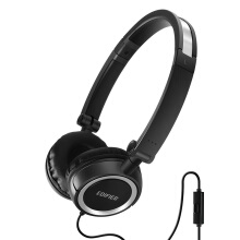 EDIFIER P650 On-Ear Headphones Noise-isolating Foldable and Lightweight Headphone with Mic