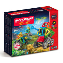 MAGFORMERS Mini Tank Set 27PC MGF13