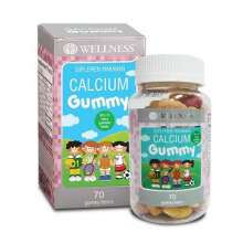 WELLNESS Calcium Gummy 60+10 Gummies