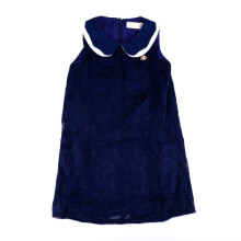 KIDDIEWEAR Dress Chiffon Flower Navy 1RN7388