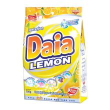 DAIA Powder Detergen Bag - Lemon 620g